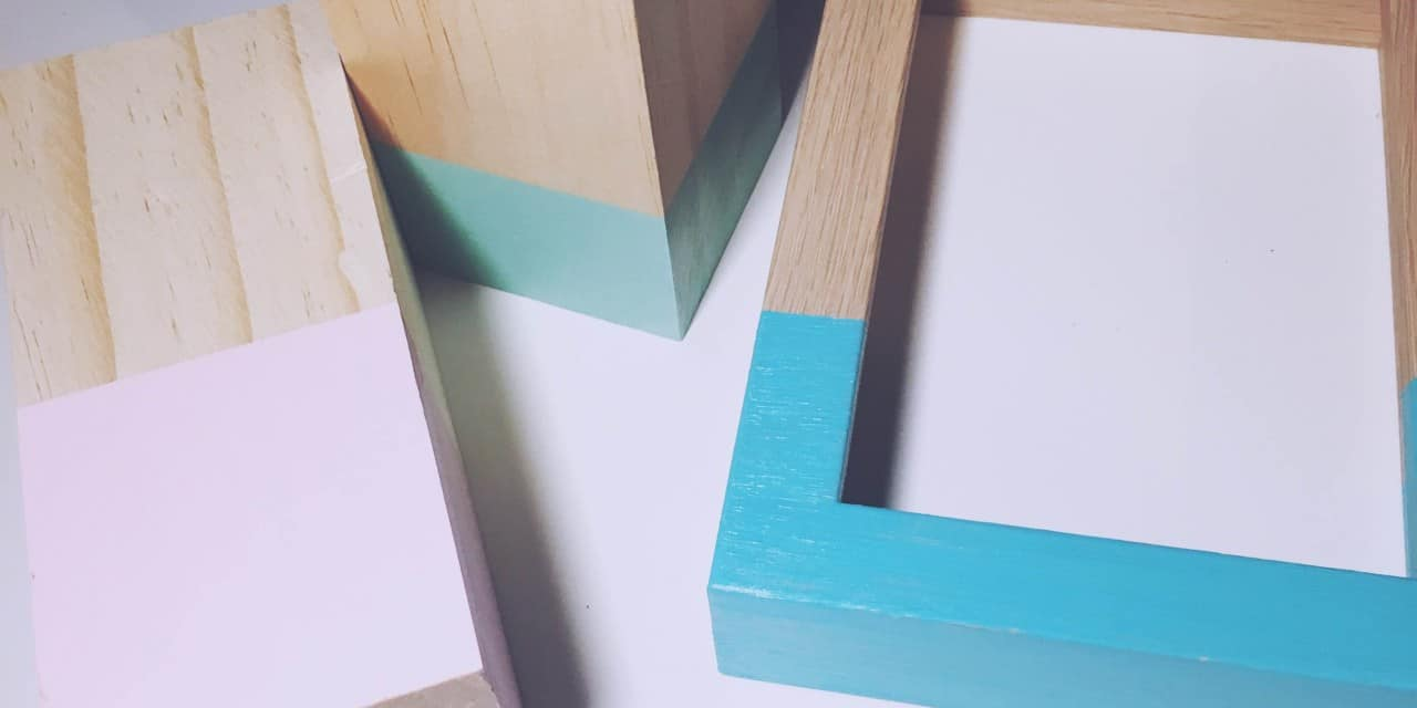 DIY Dip-Dye-Deko