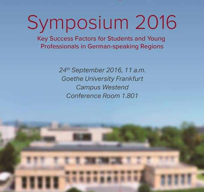 1. AGBU-HAIK Symposium 24. Sept. 2016