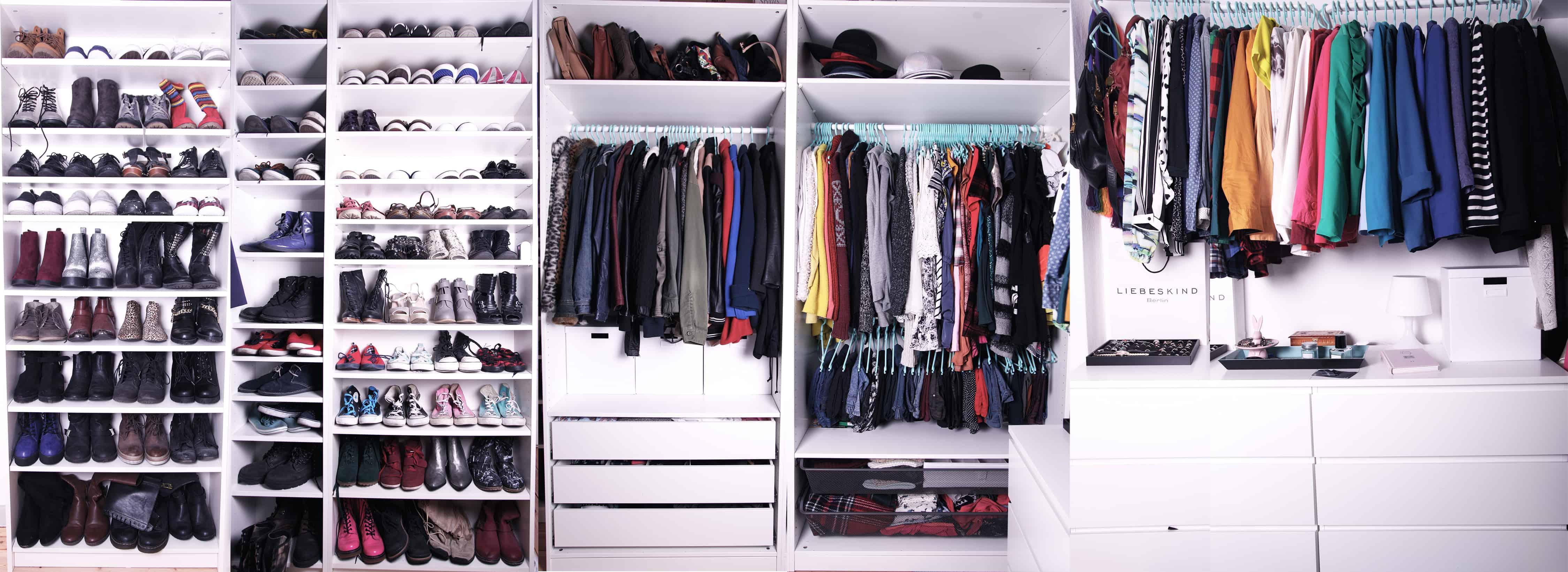 traum begehbarer kleiderschrank tipps und tricks f r die richtige ordnung the sophomore. Black Bedroom Furniture Sets. Home Design Ideas