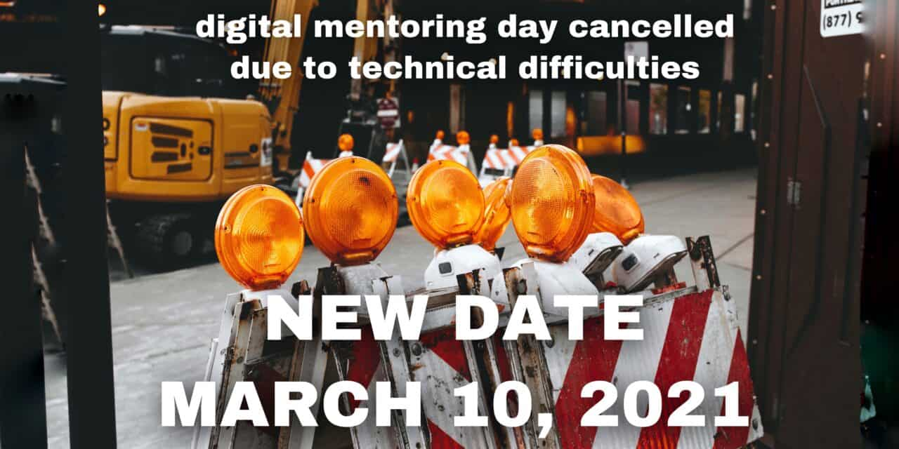 MENTORING DAY 2021 | NEW DATE