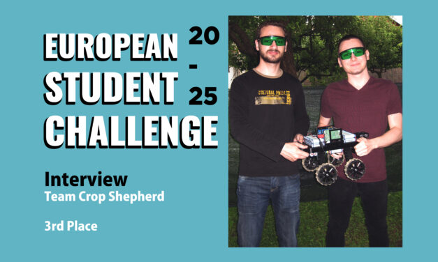 Interview with Team Crop Shepherd |  European Student Challenge 2020 – 3rd Place